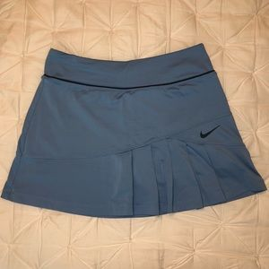 Nike Sky Blue Pleated Skirt